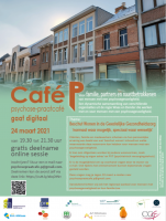 Café P, psychose-praatcafé gaat digitaal